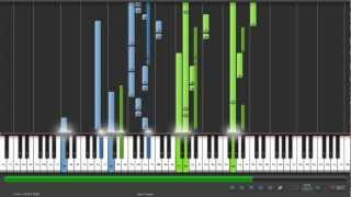 evanescence - You Star  [piano Synthesia]