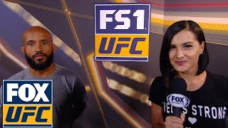 Demetrious Johnson talks going for Anderson Silva's record | INTERVIEW | UFC 216