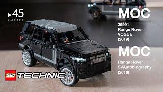 [MOC] Range Rover LEGO Technic