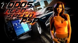 Todos os Need For Speed Para PSP
