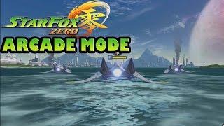 Star Fox Zero   Arcade Mode Gameplay [ HD ]