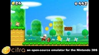 Citra 3DS Emulator - Super Mario Bros. 2 Ingame! scaled resolution