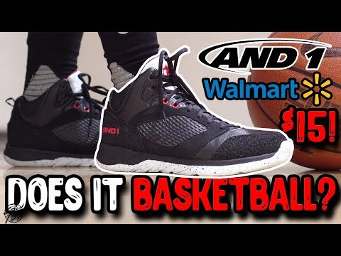 Does It Basketball? $15 AND 1 Wal Mart Basketball Shoes!