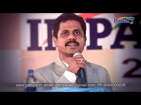 Mistakes In Writing | Y Mallikarjuna Rao | TELUGU IMPACT Hyd 2014