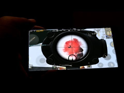PLAYING PUBG MOBILE IN RED MAGIC MARS
