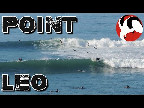 Pumping swells at Point Leo