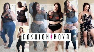 HUGE Fashion Nova Curve Try-On Haul! |Plus Size Fashion|