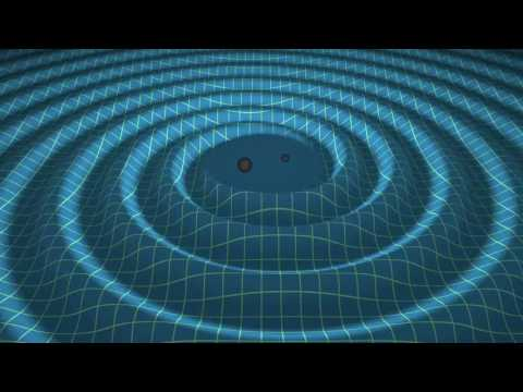 Merger of two black holes and gravitational waves