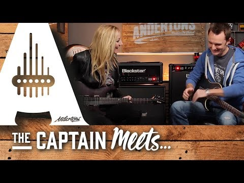 The Captain Meets The Hurricane (aka Nita Strauss!)