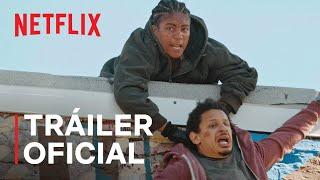 'Un mal viaje' con Eric André, Lil Rel Howery y Tiffany Haddish | Tráiler oficial  Trailer