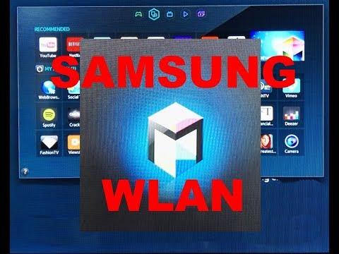 Samsung TV WLAN verbinden super einfach !!!