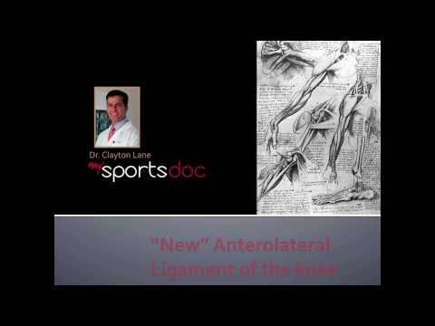 Anterolateral Ligament of the Knee Surgical Repair