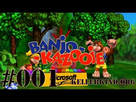 Banjo-Kazooie [HD|60FPS] #001 – Spiral Mountain – Wir kommen! ★ Let's Play Banjo-Kazooie