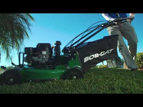 Bob-Cat Mowers Commercial 21 in. Kawasaki FJ180V BBC Self-Propelled in Saint Marys, Pennsylvania - Video 1