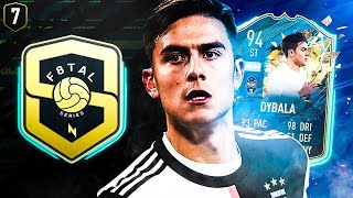 F8TAL QUARTER FINALS! F8TAL TOTSSF DYBALA! FIFA 20 ULTIMATE TEAM #07