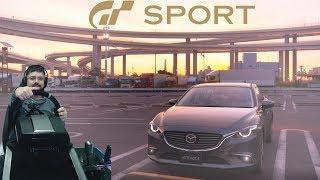 Школа вождения в Gran Turismo Sport и заруба в онлайне