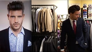 Der perfekte Männer Anzug - Besuch bei Herrenausstatter