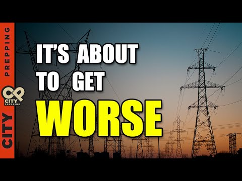 The Coming US Power Grid Collapse: What You Should Know! - City Prepping Must Video