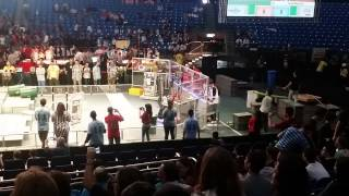 preview picture of video 'FRC Team 5135 Recycle Rush 2015 Israel Regional part 3'