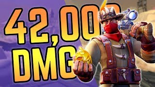 42,000 DAMAGE in 1 Round of Realm Royale!