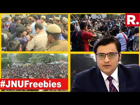 JNU Protests Without Fact Check? | The Debate With Arnab Goswami