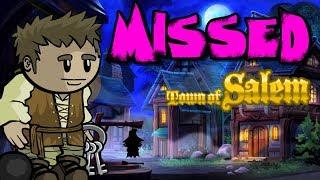 MISSED | Town Of Salem Ranked | Jailor Gameplay