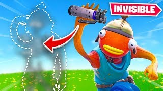 So they added *INVISIBLE* Grenades to Fortnite...