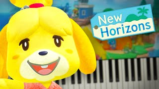 Animal Crossing: New Horizons Theme - Piano Tutorial