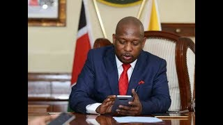Governor Mike Sonko now on the receiving end after confessing to having broken law
