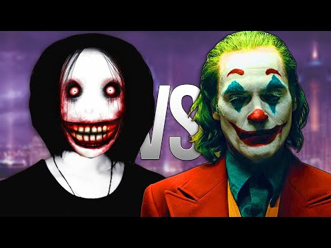 ДЖЕФФ УБИЙЦА VS ДЖОКЕР | СУПЕР РЭП БИТВА | Jeff The Killer Creepypasta VS Joker Movie 2019