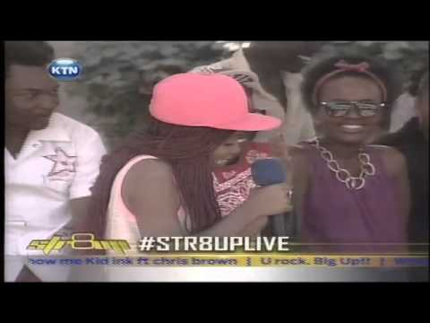 Str8up live interview with Winky Daily