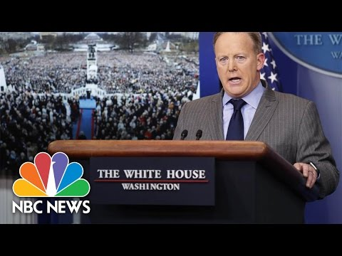 White House Blasts Media Over Inauguration Coverage | NBC News