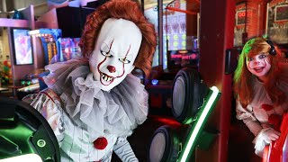 Pennywise at the Arcade!