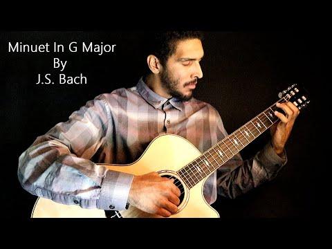Bach - Minuet in G Major (Classical Guitar)