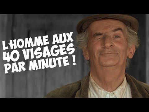 3 minutes de têtes de Louis de Funès !