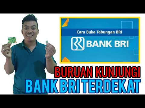 SYARAT DAN CARA MEMBUAT REKENING TABUNGAN BANK BRI VIDEO DENY DENNTA