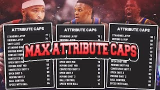 NBA2K19-SECRET MAX ATTRIBUTE CAPS FOR ALL BUILDS! MUST WATCH BEFORE CREATING YOUR BUILDS!