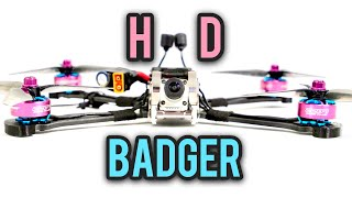 DJI Armattan Badger - HD Freestyle Drone - Do you still need a gopro? Full review