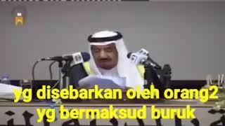 Raja Salman Menjawab Tuduhan Penceramah Salafi Yang Dituduh Radikal