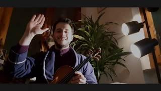 Who won the $4,600 violin on Christmas Day??