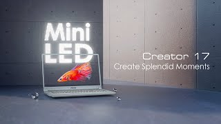 YouTube Video 1E6FTEoc_qc for Product MSI Creator 17 A10S Laptop (10th-gen Intel) 2020 by Company MSI (Micro-Star International) in Industry Computers