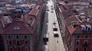 Milano in lockdown