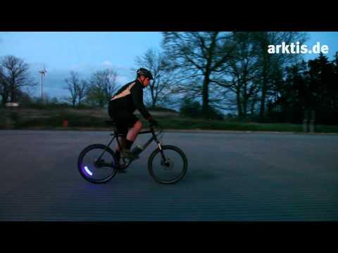 Lightcycle LED Ventilkappen - So wird Euer Fahrrad oder Auto zum Lichtrad (arktis.de Gadgets)