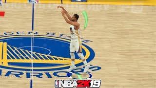 NBA 2K19 Top 10 Long Distance Green Release Shots!