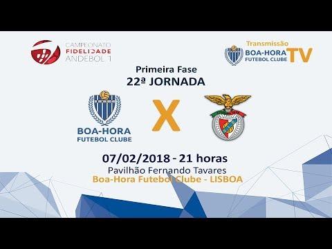 22ª Jornada Primeira Fase  Boa-Hora FC/ROFF -   SL Benfica