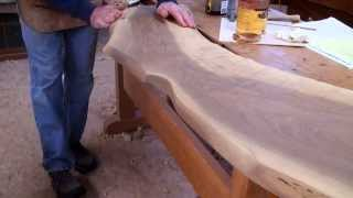Live-edge Walnut Countertop with Tom McLaughlin