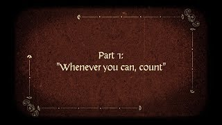 Francis Galton: Part 1: Whenever You Can, Count