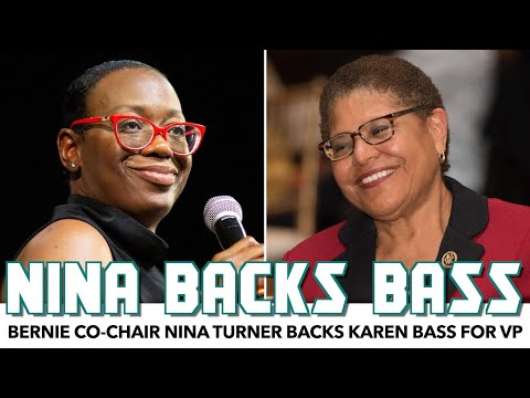 Nina Turner Backs Karen Bass For VP