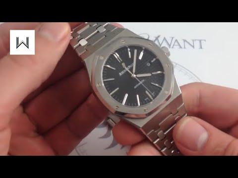 Audemars Piguet Royal Oak 15400ST Luxury Watch Review