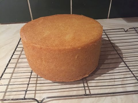 Video How to bake a deep 6 inch round madeira cake